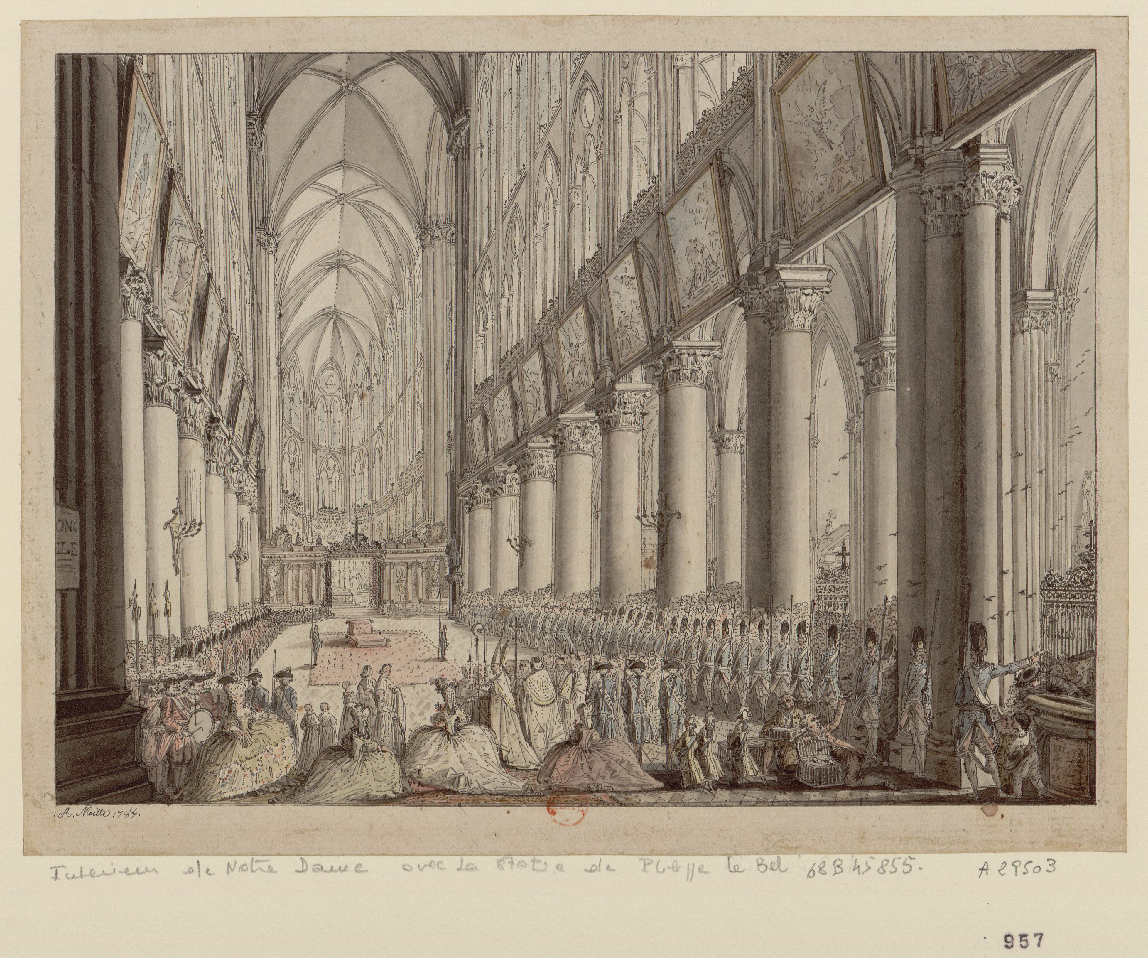 Admirer La Peinture Francaise 1 Les Mays De Notre Dame Destination Versailles