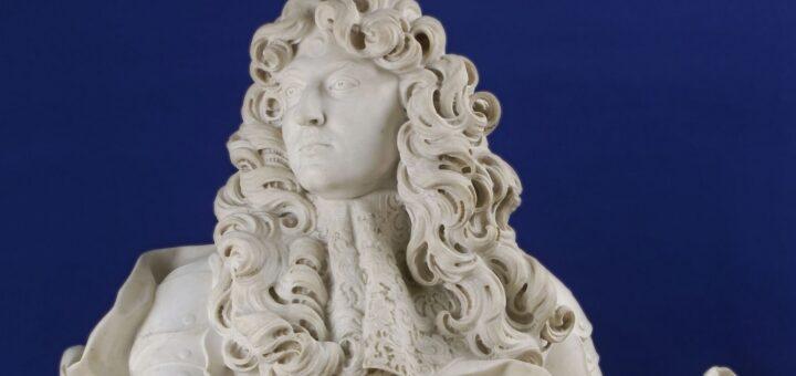 Buste de Louis XIV, roi de France et de Navarre (1638-1715), représenté en 1665